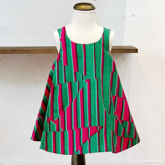 北欧ブランドプリント柄ワンピースSuvi bebe 1172055 Mari print kids dress with lining