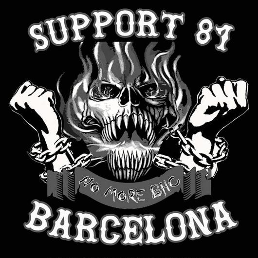 "Support81 Barcelona ""No More Big House Crew"" T-Shirt."