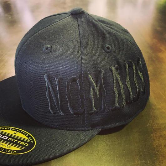 SUPPORT CAP - Black/Black (Nomal Font)