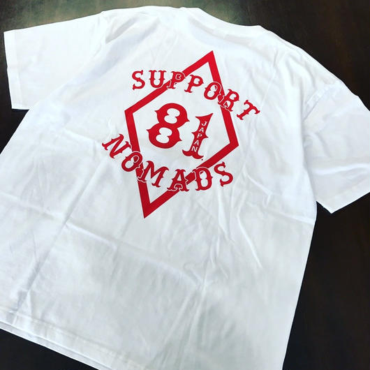 SUPPORT 81 T-shirts Tag White