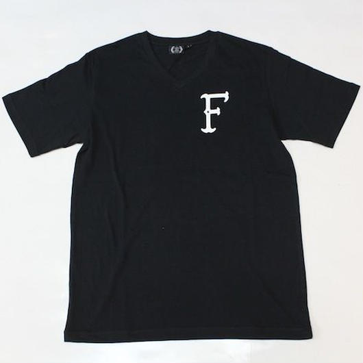 THE FOUR THIRTY#BONE F S/S V-NECK TEE