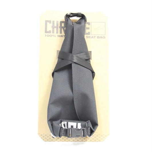 CHROME #KNURLED SEAT BAG GRAVEL
