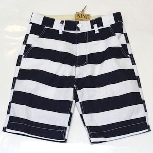 CANVAS#BORDER SHORT PANTS