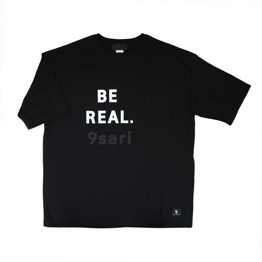 """BE REAL.""  BIGシルエット TEE"