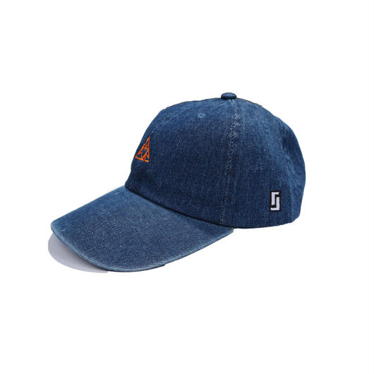 """9sari""  Low Cap ( INDIGO DENIM)"