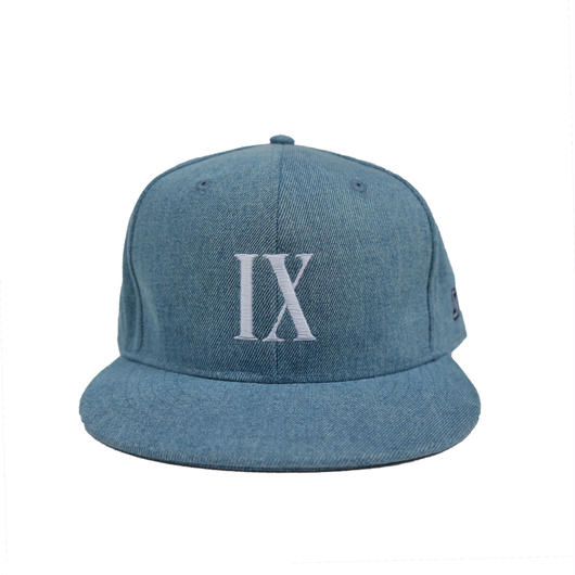 """IX"" Snap Back Cap ( ICE BLUE)"