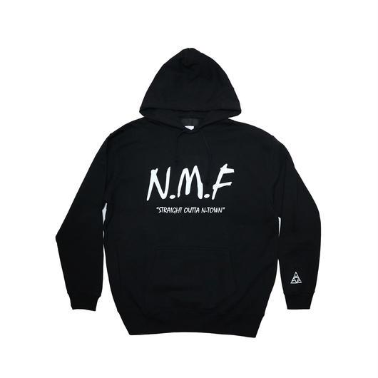 """""""N.M.F"""" HOODY  『BLACK』"""