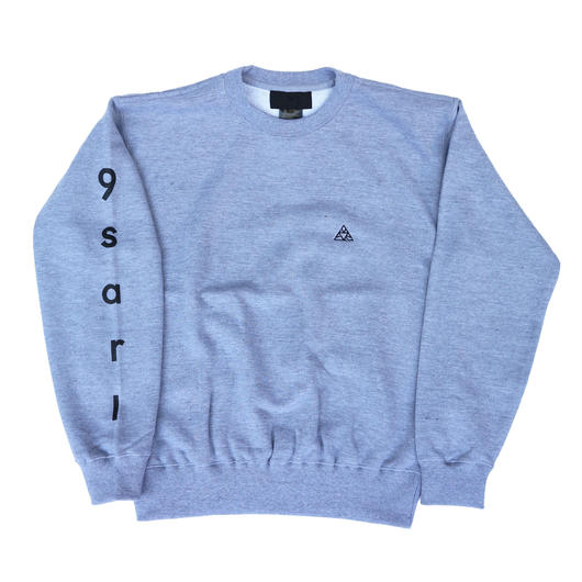 """IX  S  G  "" CREW NECK   『GRAY』"