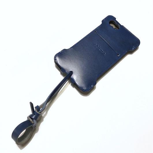 在庫1点のみ!iPhone SE cwjー ルガトブルーウォレットジャケット
