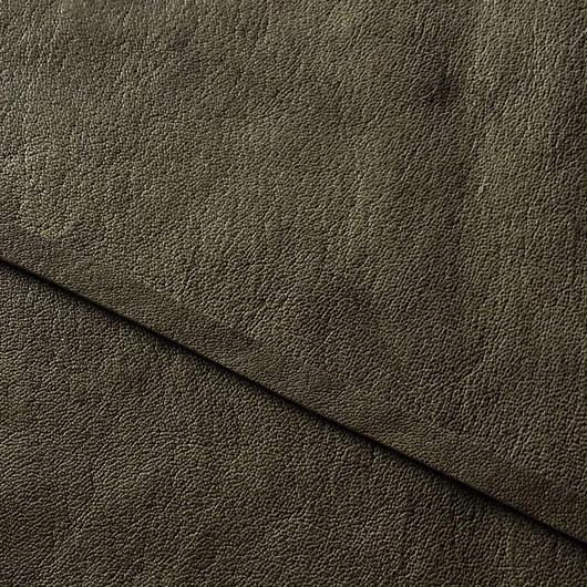 【限定革】abicaseDogCollar/aiboの首輪/ラクダ革フォレストグリーン