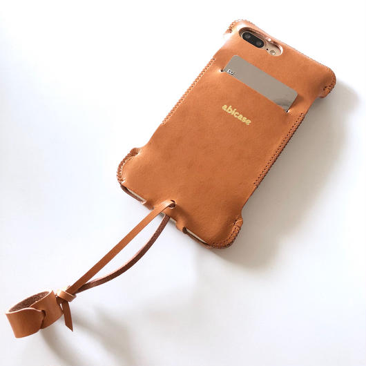 【予約受付】abicase8PSWJ(iPhone8Plus用)スリットウォレットジャケット