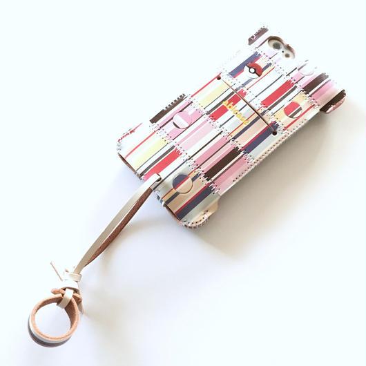 1点物【abicase stripe】 iPhone 6s cwj/クレイジーパターン