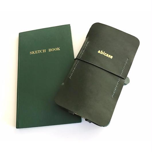 【1点物】【abicase flap】iPhone7 手帳ジャケット/野帳