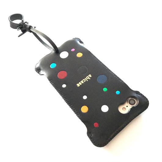 【1点物】iPhone7  nswj カラフルドット