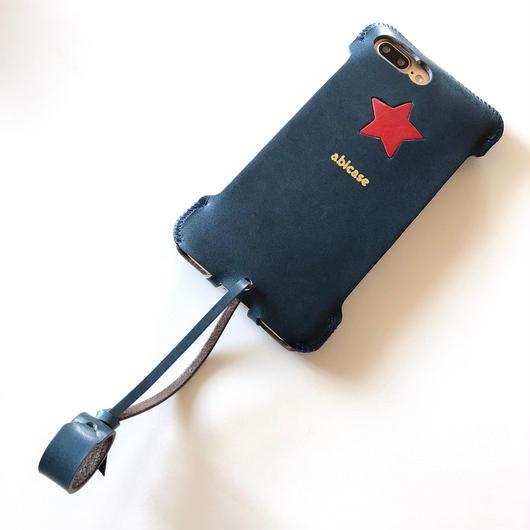 【1点物】abicase8P sj(iPhone8Plus用)シンプルジャケット★