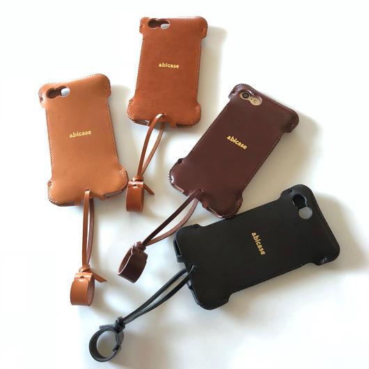 【予約受付】abicase8WJ(iPhone8用)ウォレットジャケット