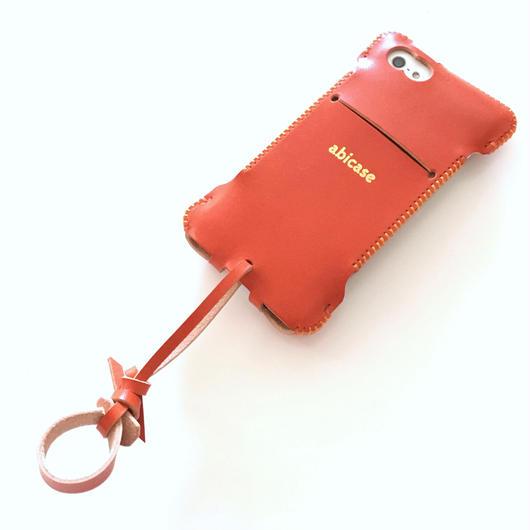 【限定色】iPhone SE cwj ウォレットジャケット/オレンジ