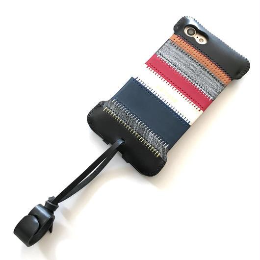 【完全1点物】iPhone8&7用パッチワークジャケット