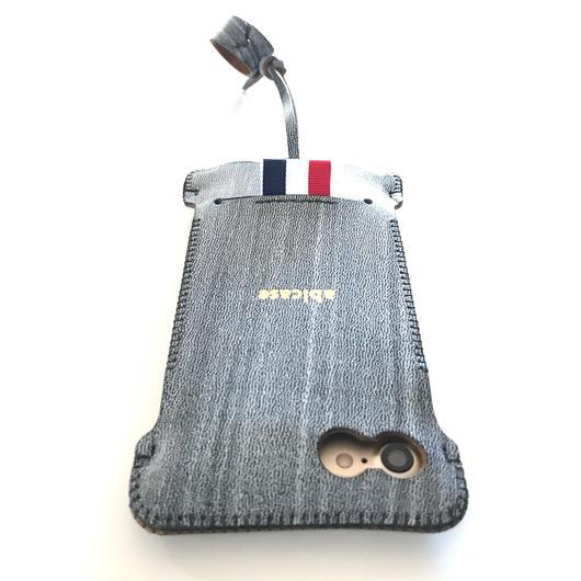 【abicasePro】 iPhone7 リボンウォレットジャケット