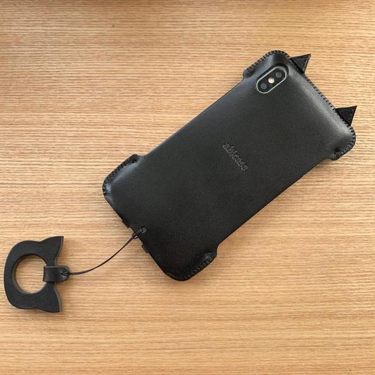【iPhone XS Max】黒猫アビケース