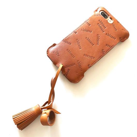 【1点物】abicase8PWJ /iPhone8Plus用ウォレットジャケット