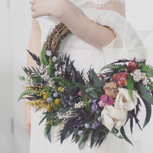 wreathe bouquet  [Resortative]