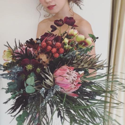 big bouquet...Exotica red