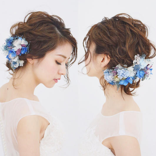 【CLASSY.wedding 掲載】royal 〜royal blue〜