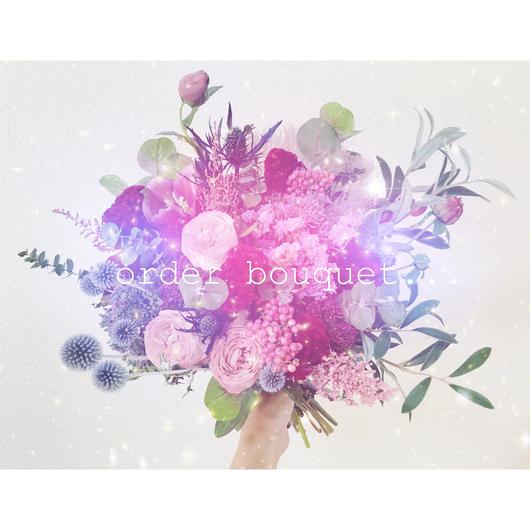 order bouquet…