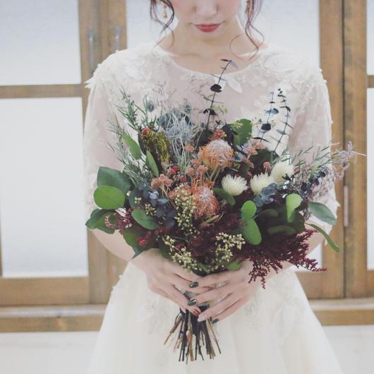 crutch bouquet*botanical