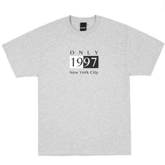 ONLY NY 【オンリーニューヨーク】 Tシャツ 半袖 Deco T-Shirt  Heather Grey