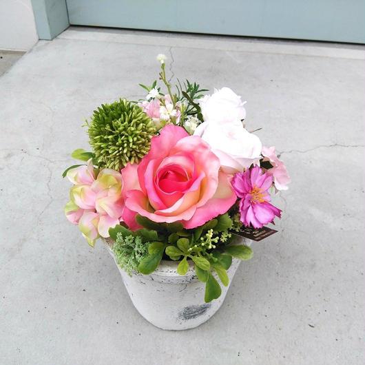 4700円 ピンクのバラのアレンジメント