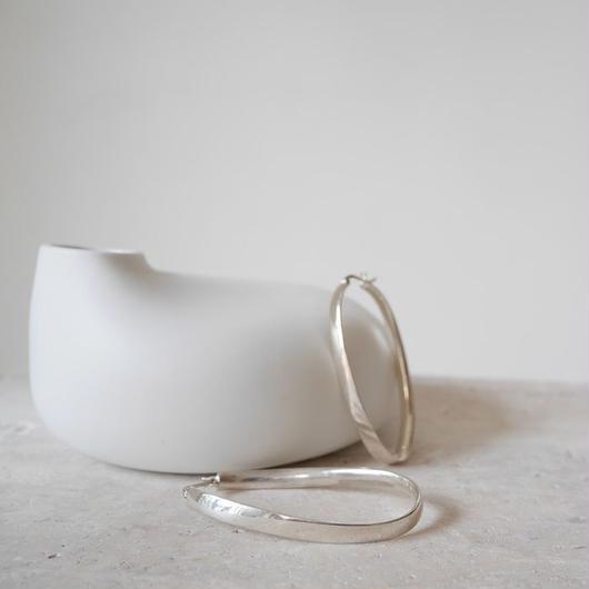 ■RESTOCK■Silver.925 CurveUndulate Hoop-pierce