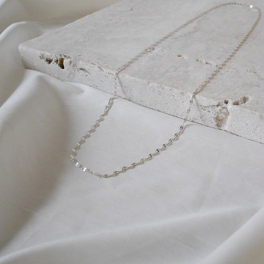Silver.925 PlateConsecutive-Necklace