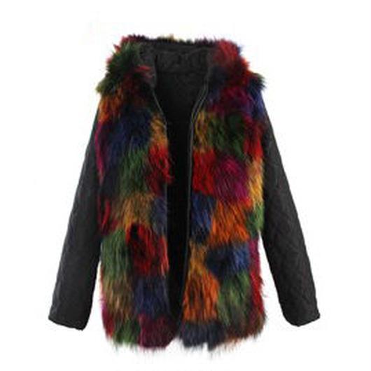 Colored Furモッズコート スペアライナー《オールリアルファー/Short》