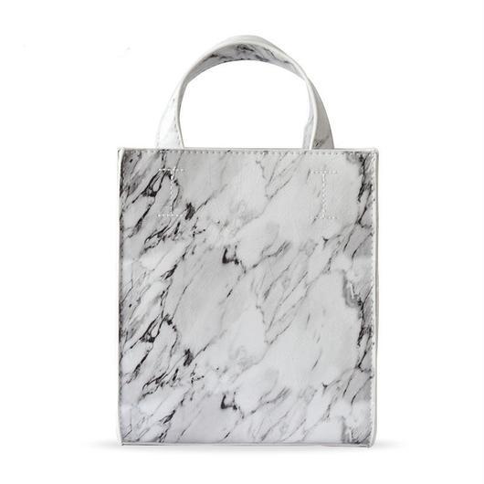 Marbleショルダーバッグ《WHITE/BLACK》