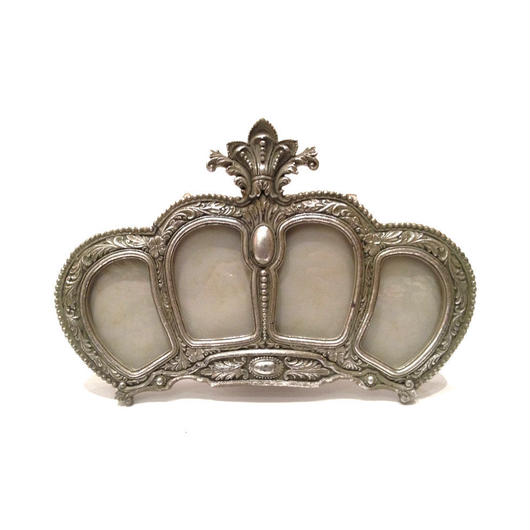 Crownフォトフレーム 《Silver》