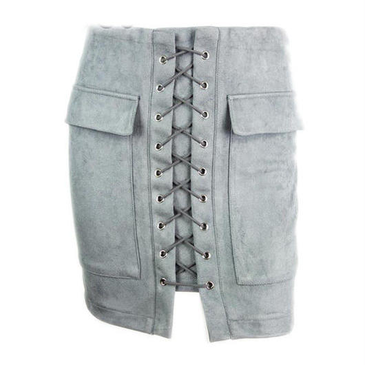 Lace Upスカート