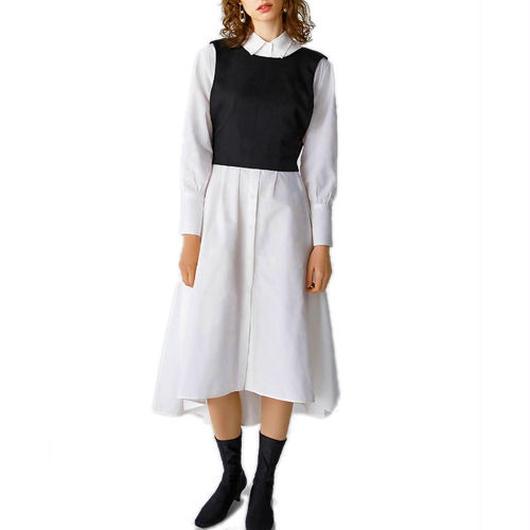 Cagedシャツドレス