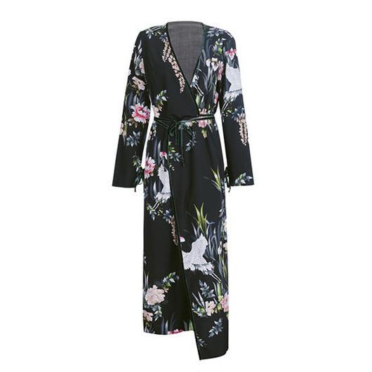 Wrap Kimonoガウン