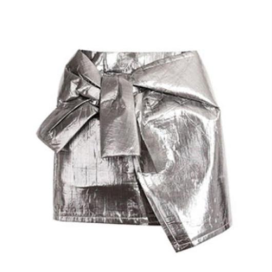 Metalic Knotミニスカート