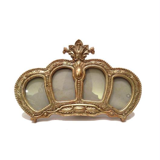 Crownフォトフレーム 《Gold》