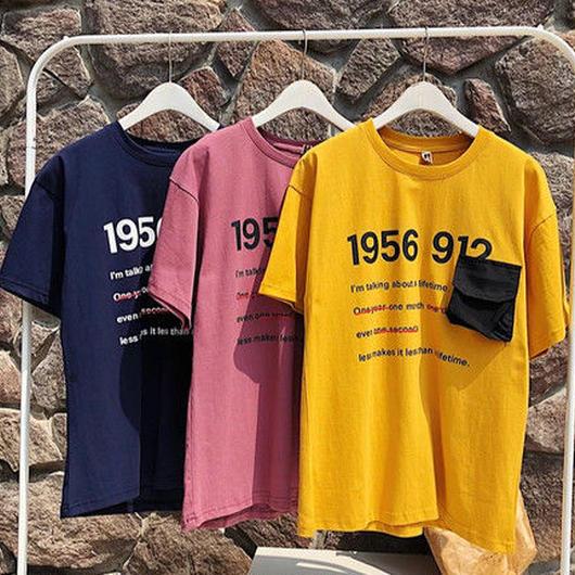 [大人気]1956デザインTシャツ 3カラー