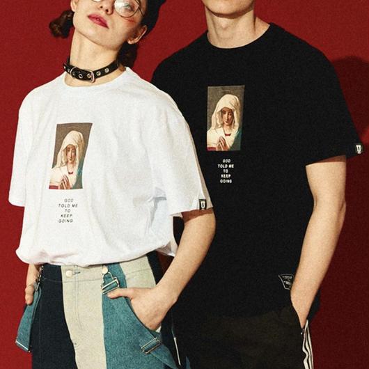 【STREET】GODデザインTシャツ 2カラー