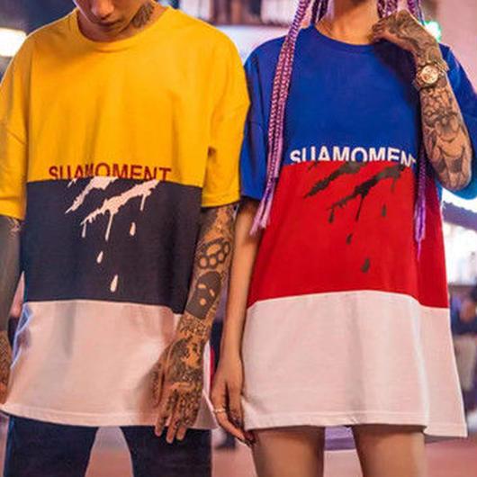 【売れ筋】 3カラー鉤爪デザインTシャツ 2カラー