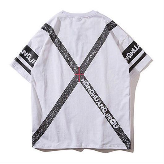 [Good]XデザインビックTシャツ 2カラー
