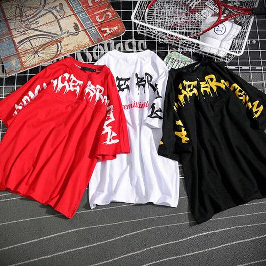 [STREET]unrimiデザインビックサイズTシャツ 3カラー