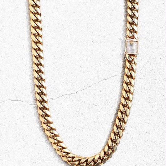 [HIPHOP]ダイヤゴールドデザインネックレス