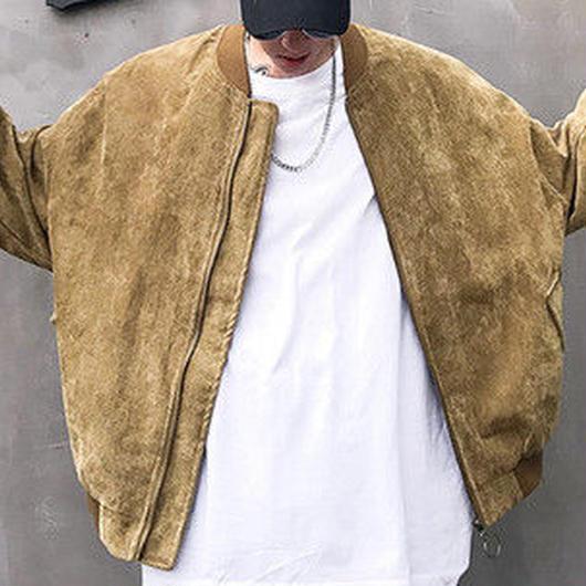 [春服]コーデュロイ風ボンバージャケット 2カラー