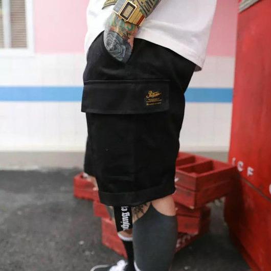 [売り切れ間近]Re Fashionデザインハーフパンツ 2カラー